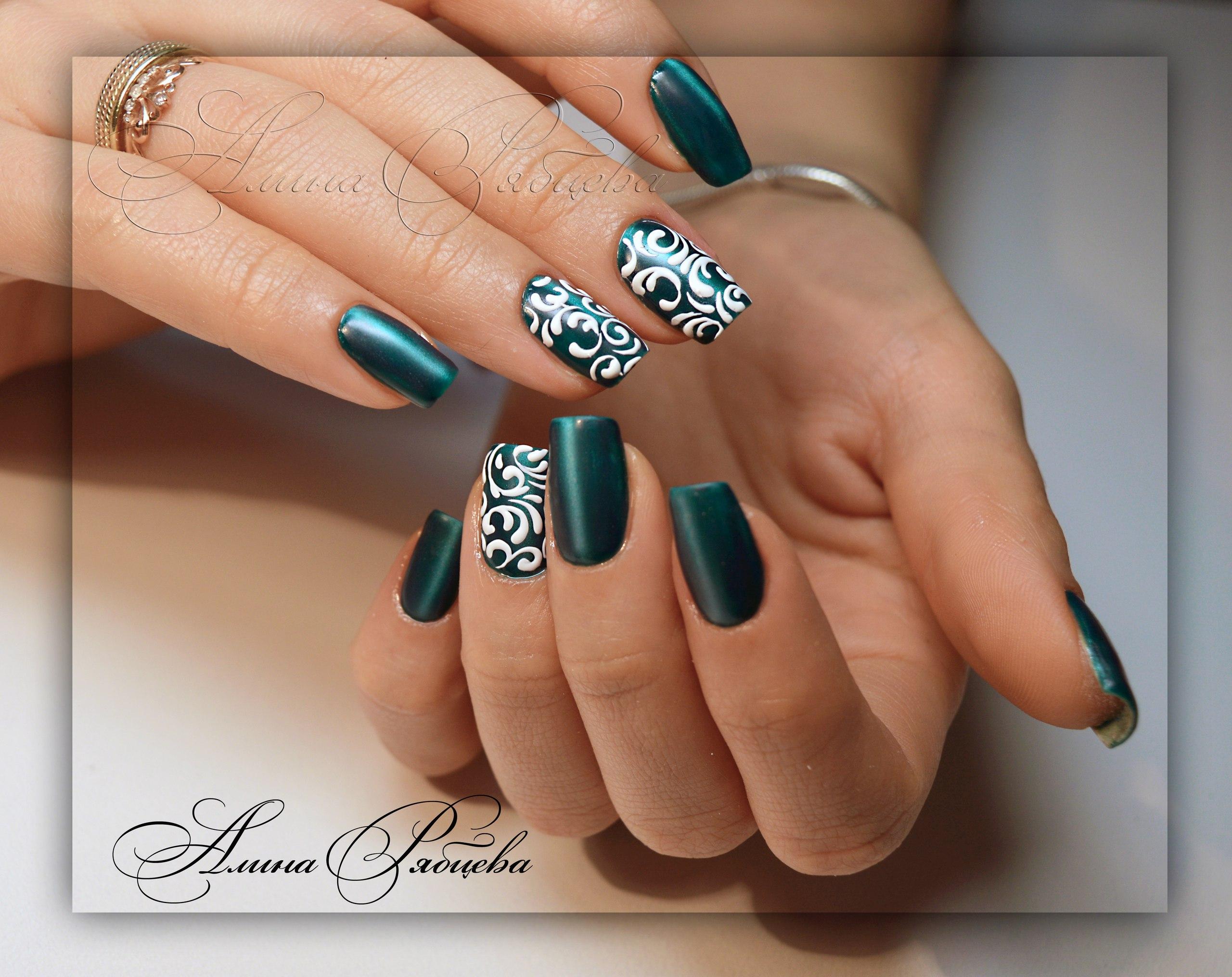 Дизайн нарощенных ногтей фото новинок