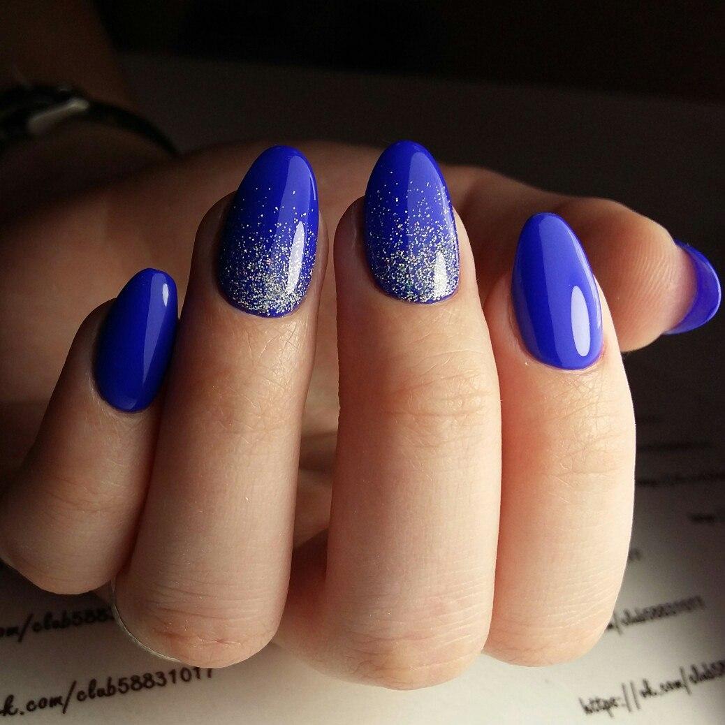 красивые однотонные ногти фото