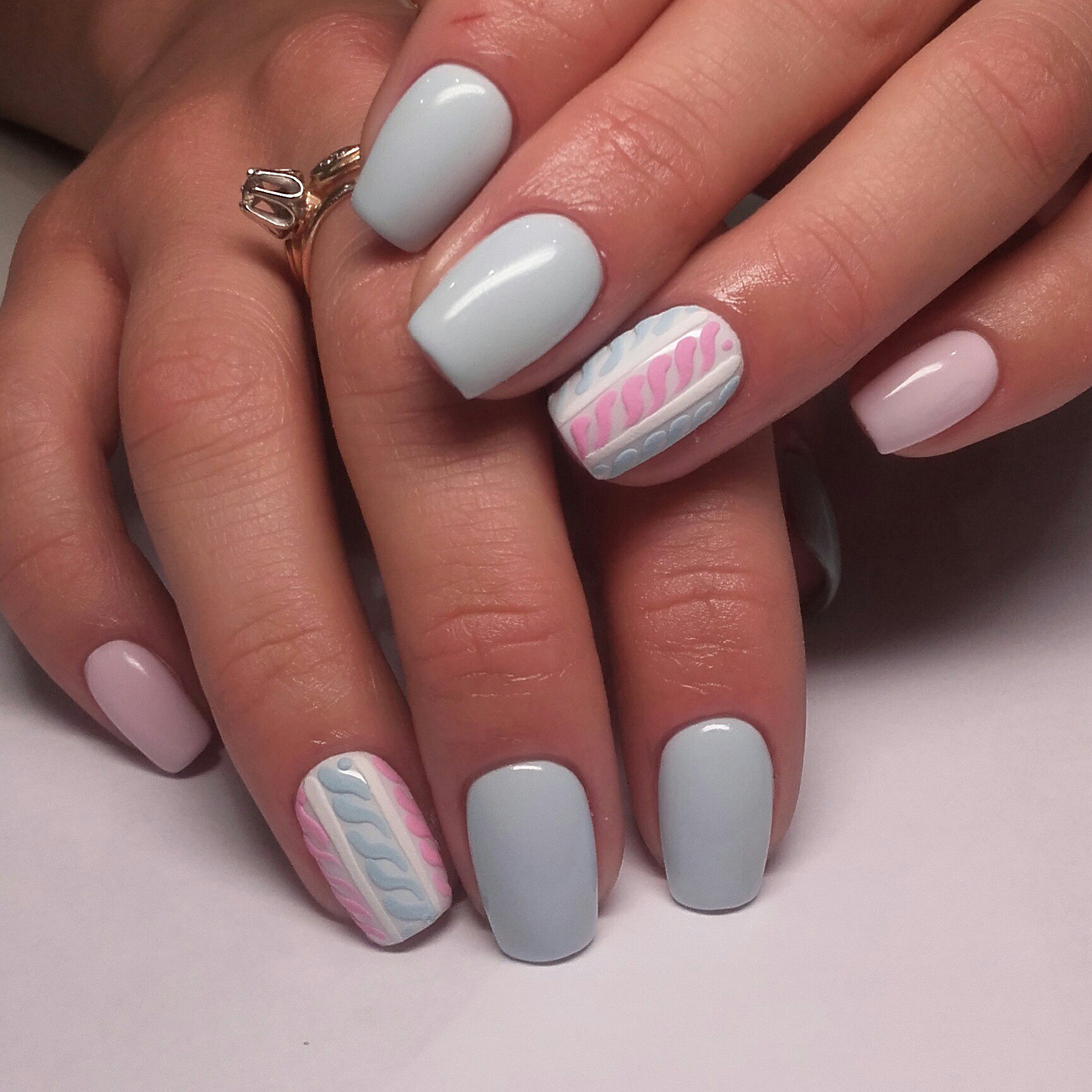Ногти Накрашены Разным Лаком Фото