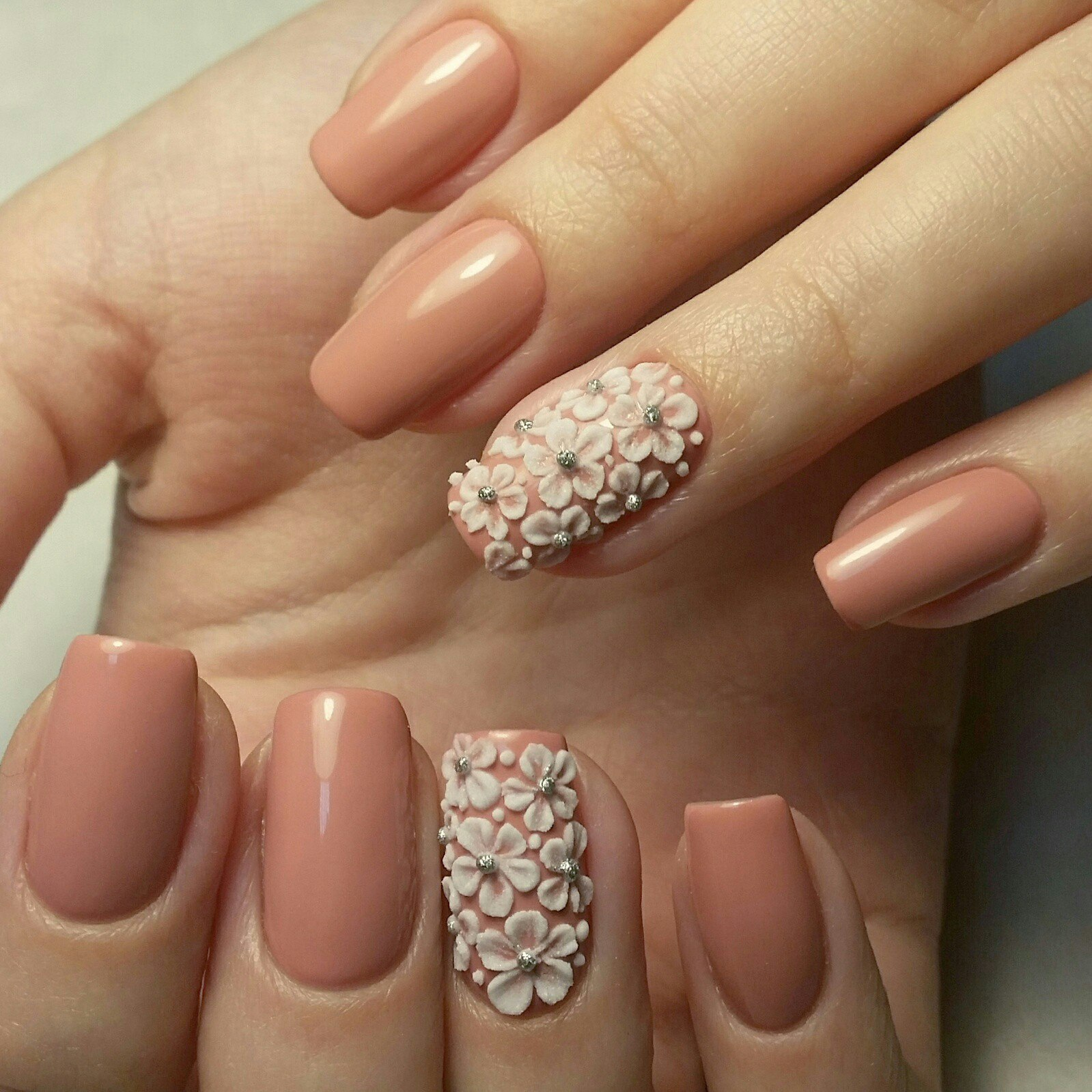 Фото Шеллак На Короткие Ногти Дизайн Осень