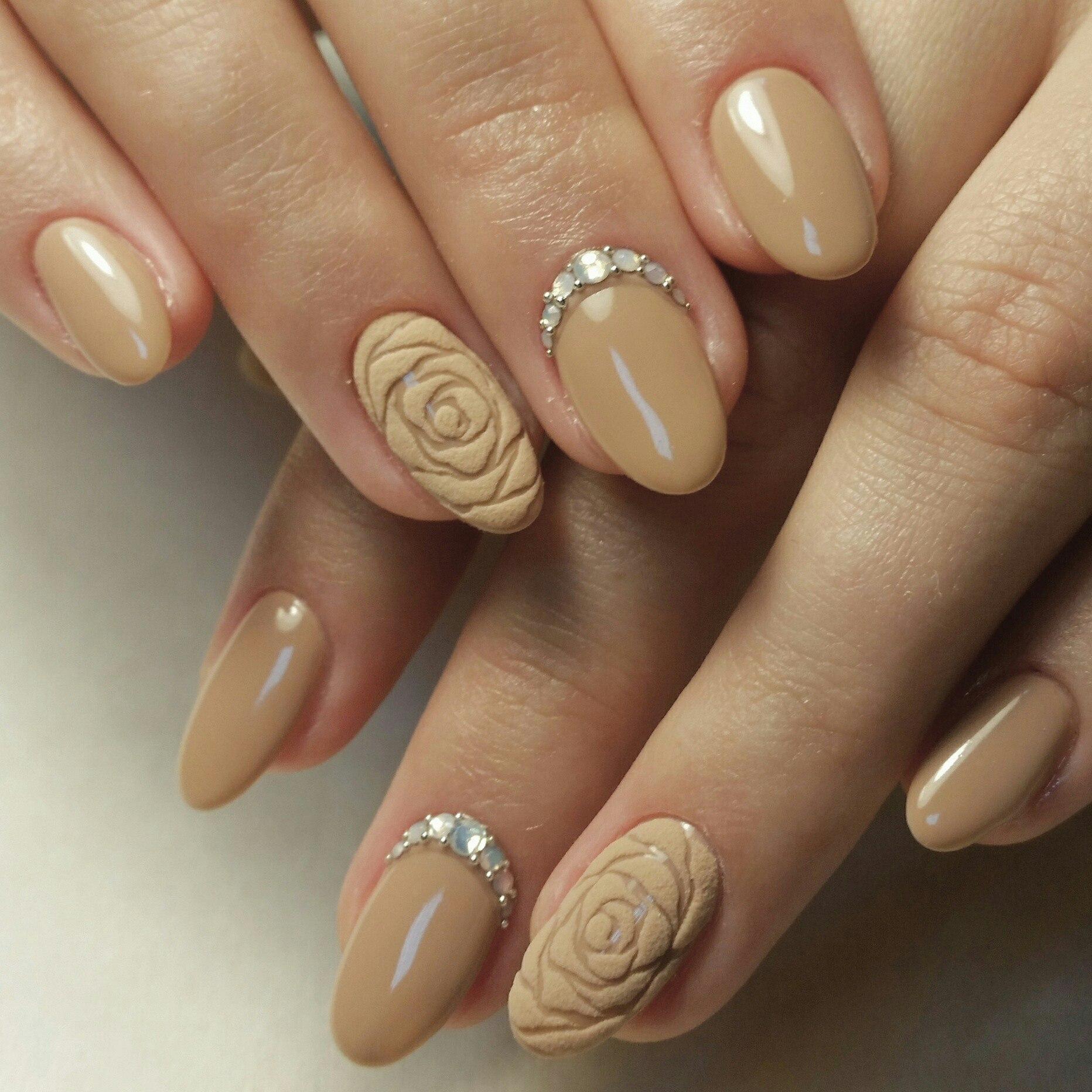 Фото дизайна ногтей пастельных оттенков