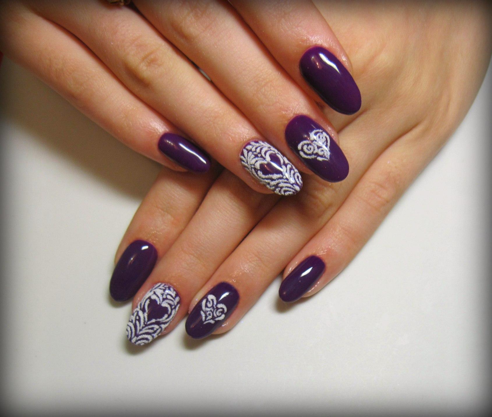 Ногти Миндаль Дизайн Фото