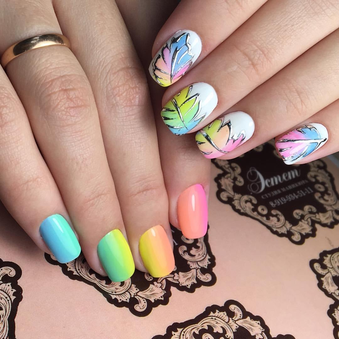 Современный дизайн ногтей 2017