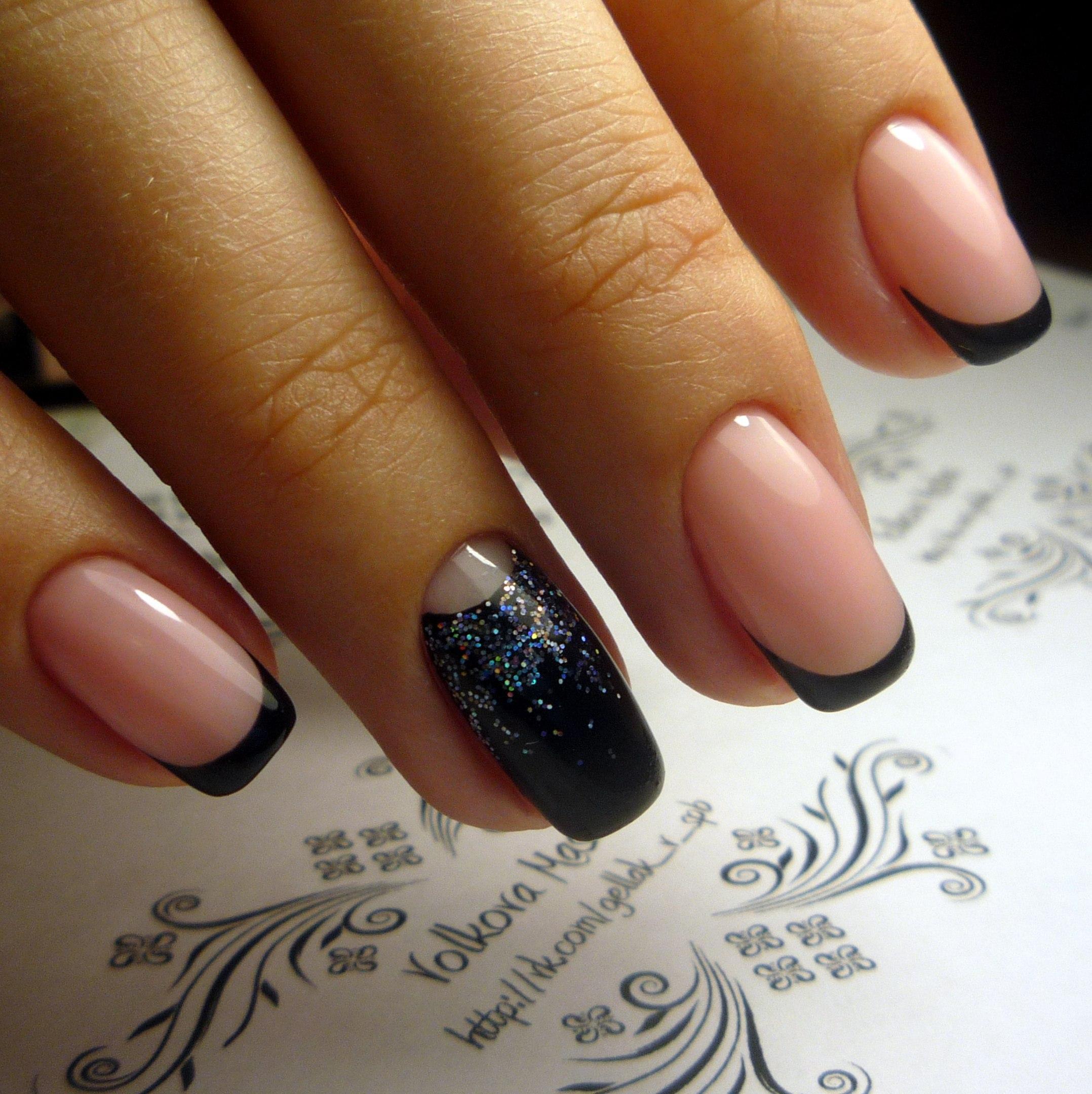 Дизайн на квадратные ногти фото