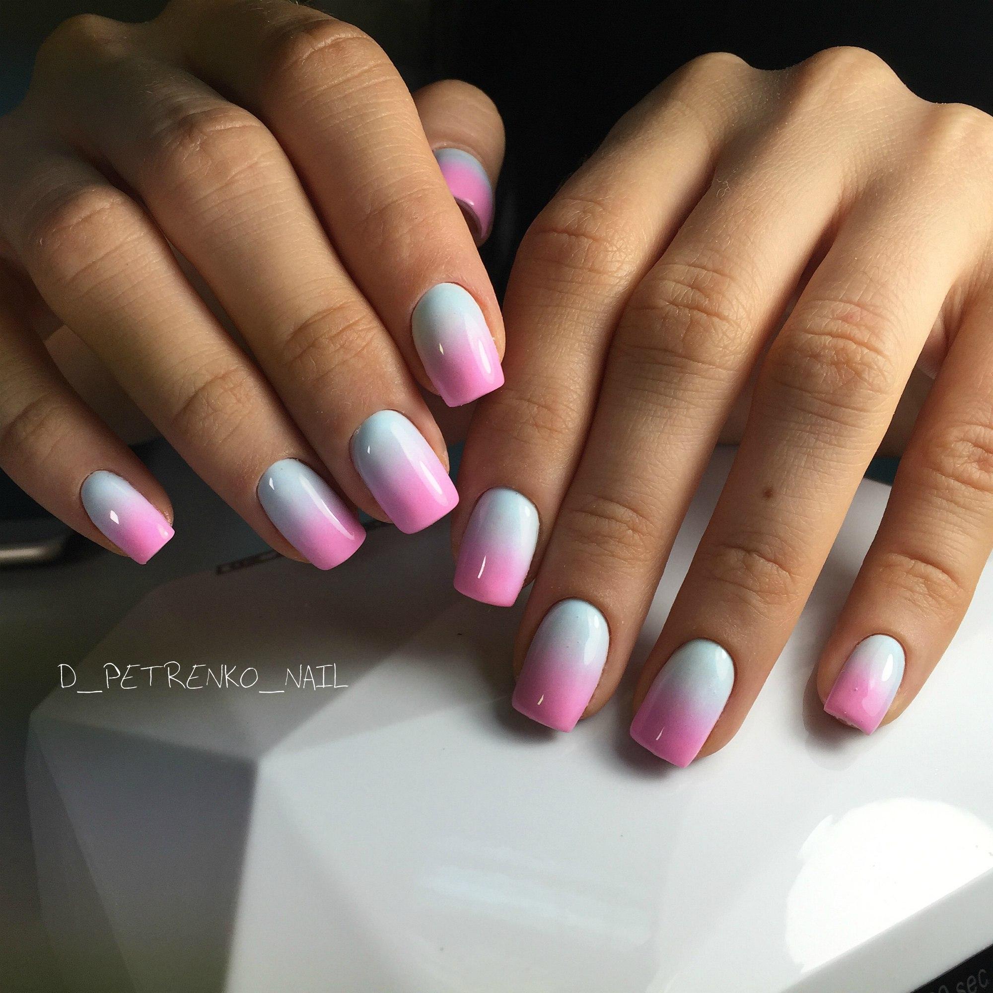 Дизайн на короткие ногти 2018 фото новинки френч весна лето омбре