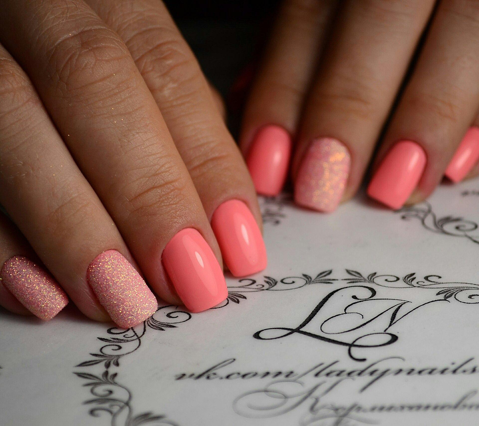 Мармелад для ногтей (Меланж) Nail Passion Меланж-сахарок 24