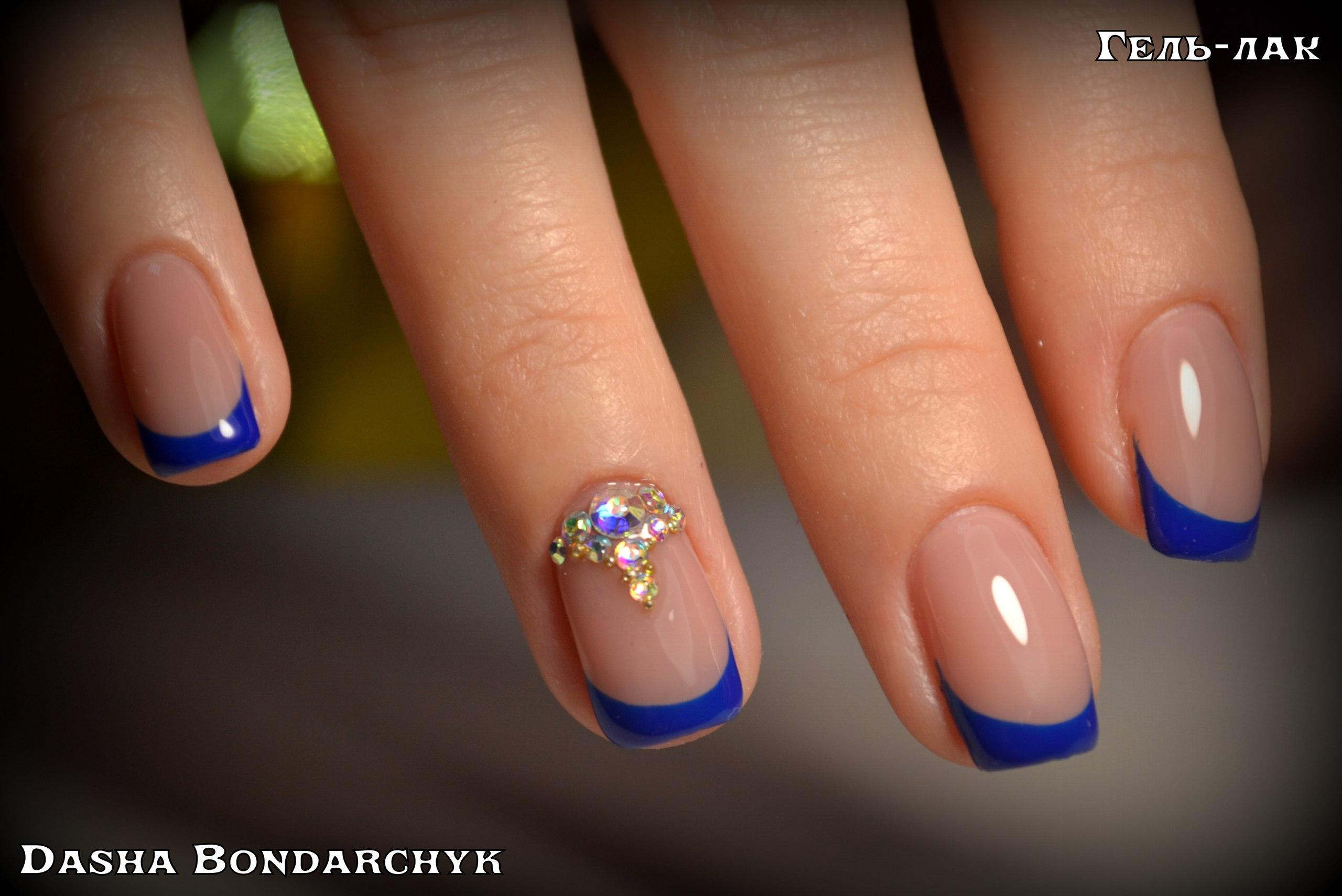 Нарощенные ногти дизайн френч 2017 новинки