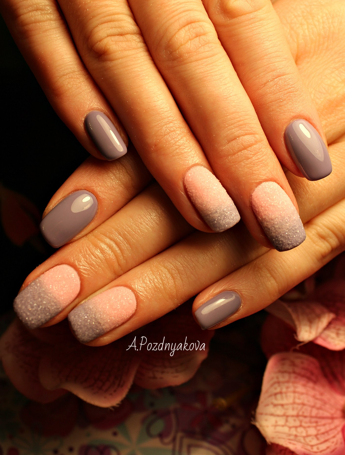 Фото длинные ногти квадратной формы