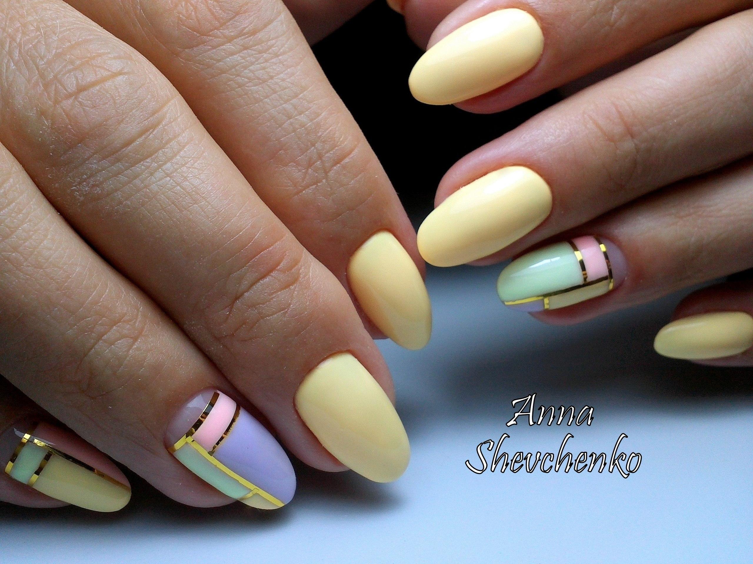 Ногти овальной формы
