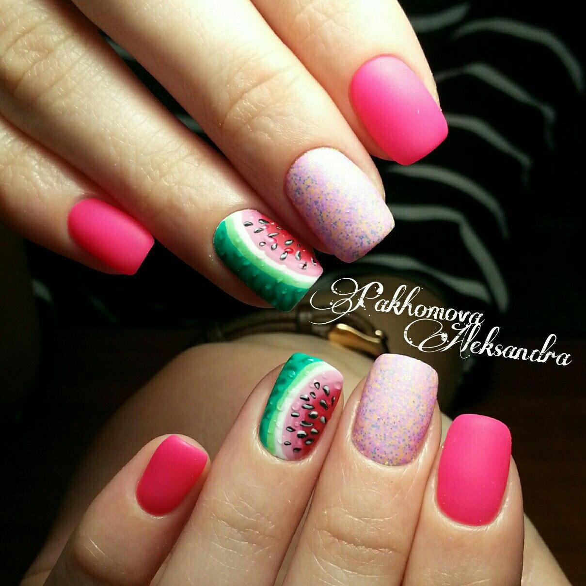 Мармелад для ногтей (Меланж) Nail Passion Меланж-сахарок 31