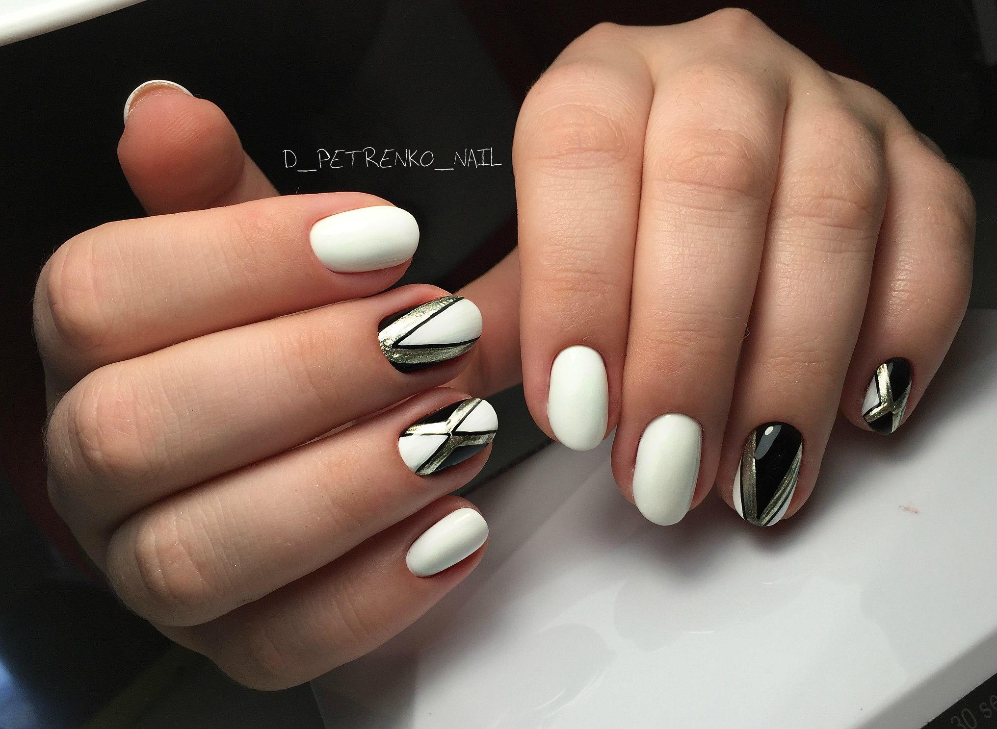 Дизайн ногтей бордовый цвет острые 20