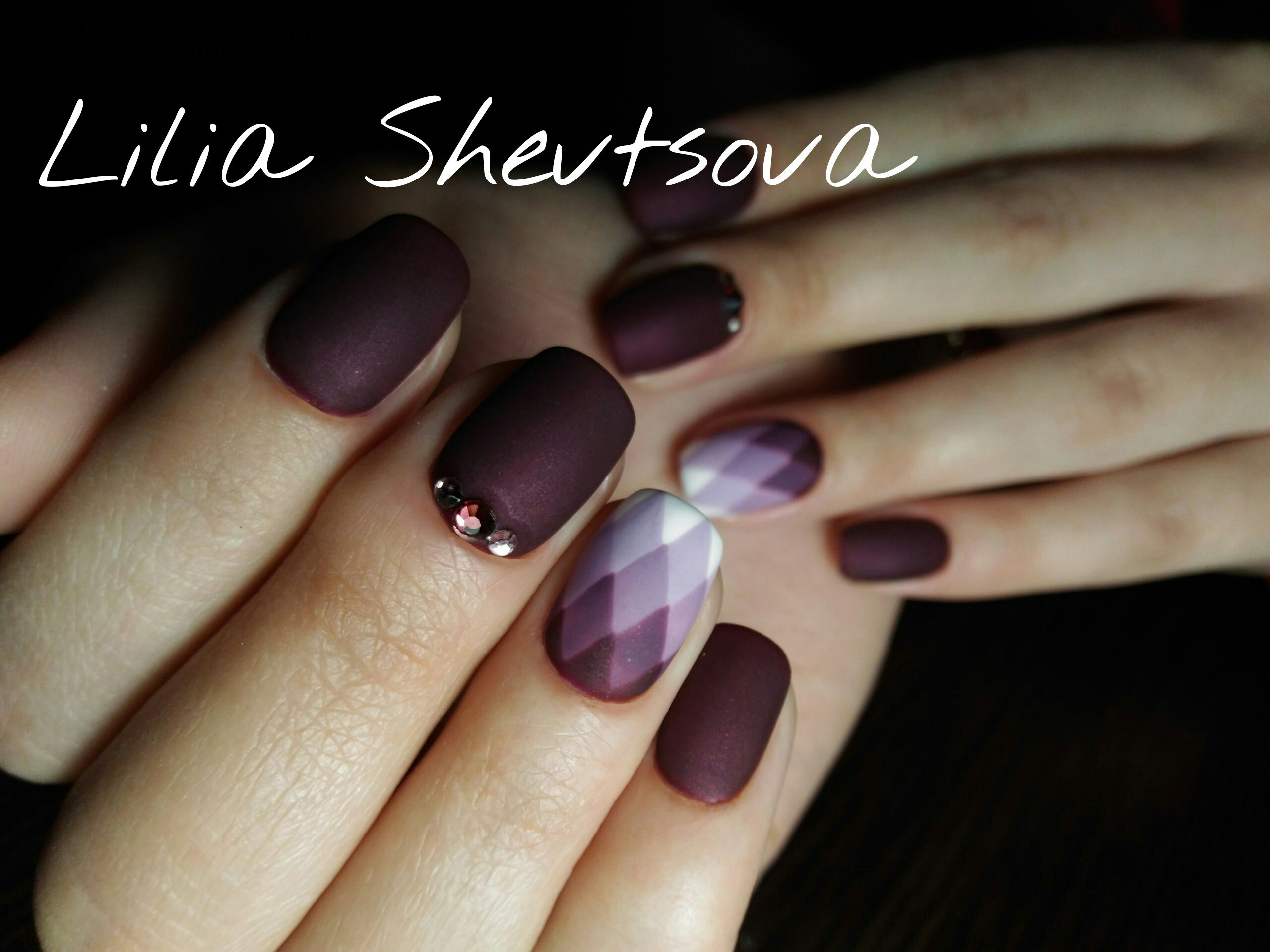 повседневный дизайн ногтей фото