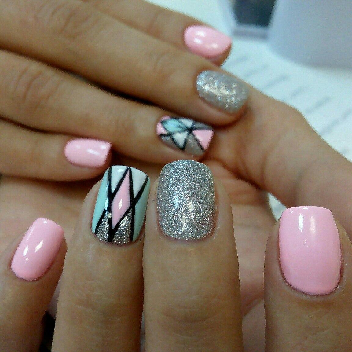 Квадратные ногти фото красивые