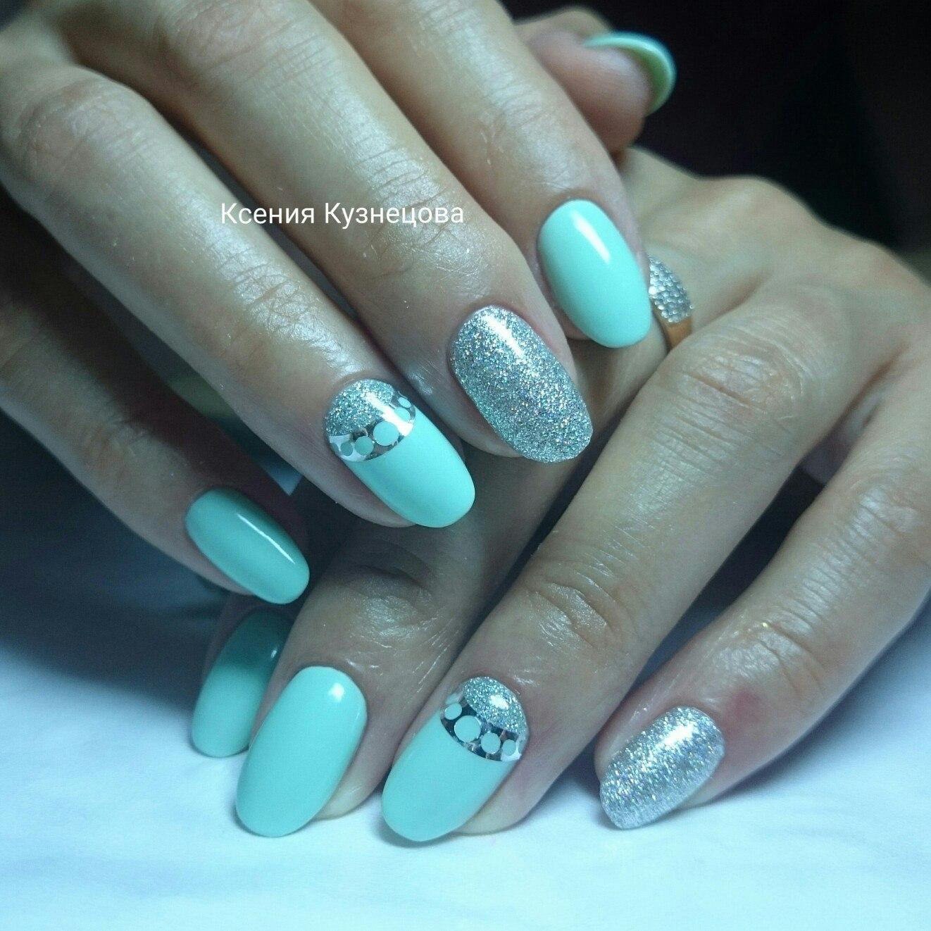 Красивый маникюр гель лаком фото на овальную форму ногтей