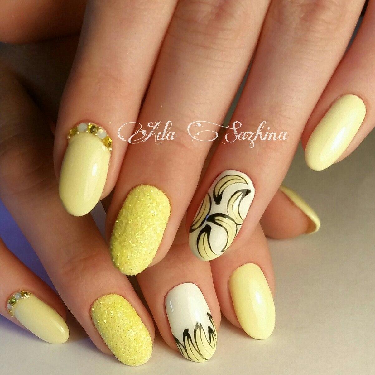 Мармелад для ногтей (Меланж) Nail Passion Меланж-сахарок 8