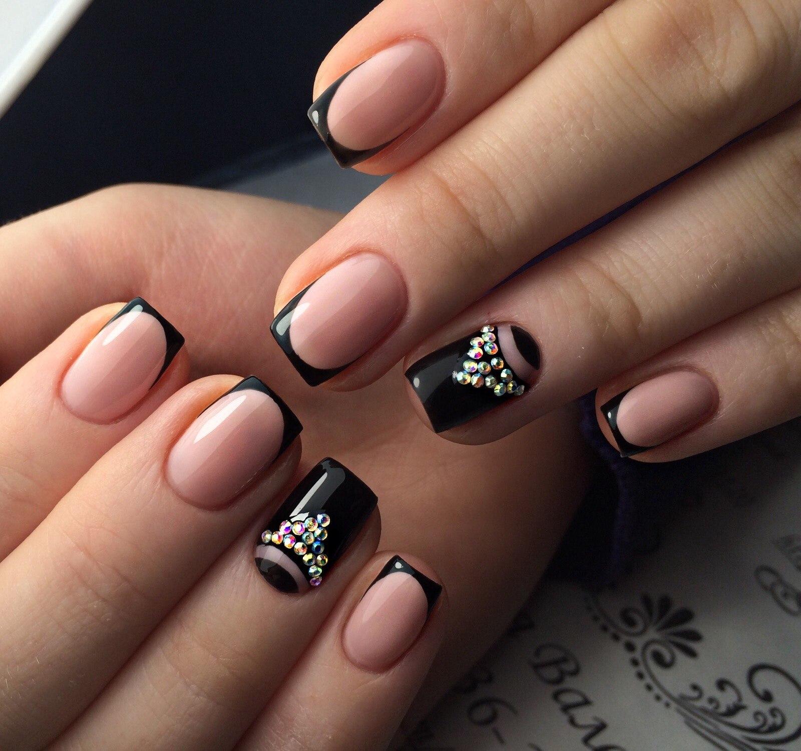Ногти однотонные фото красивые