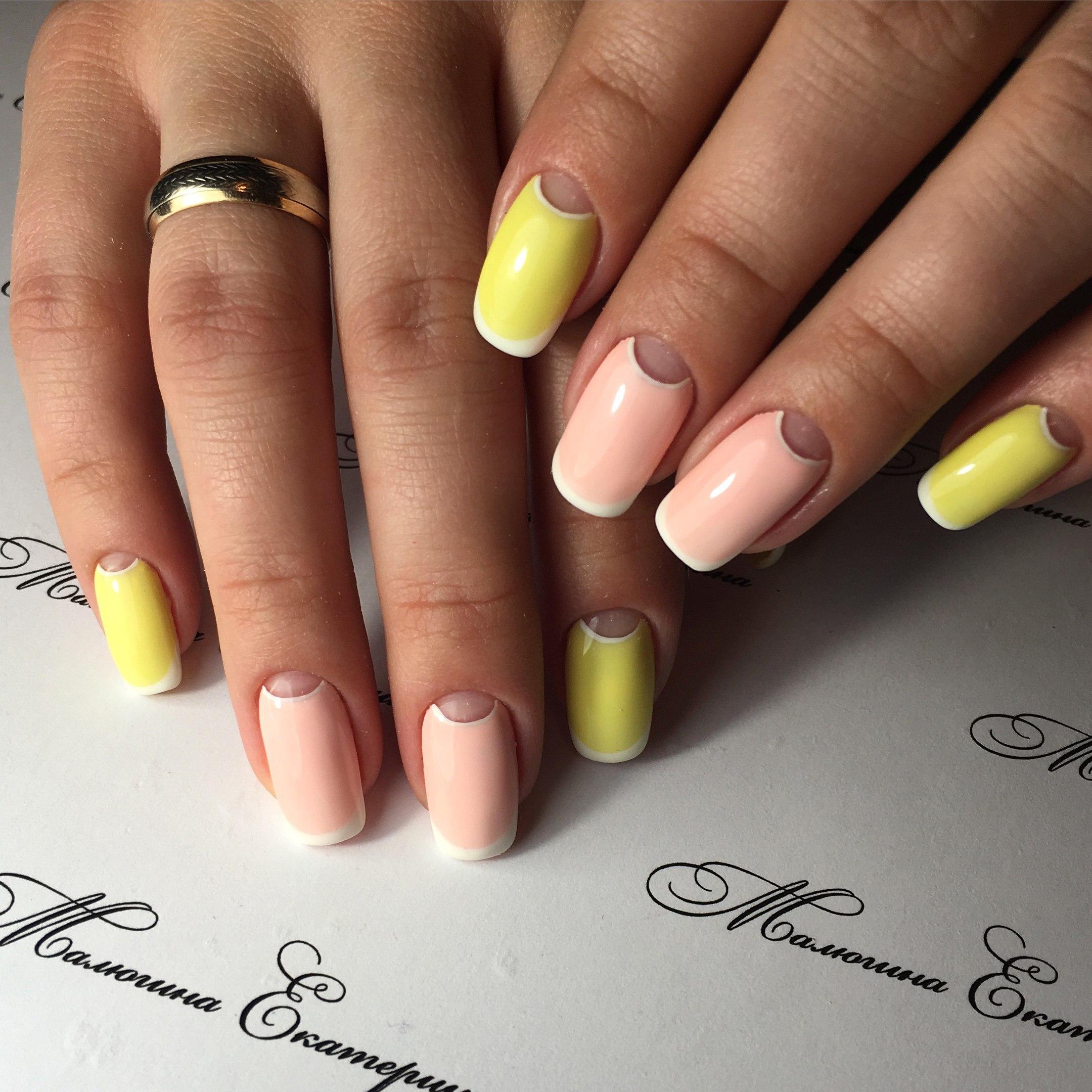 фото ногти нарощенные квадратные