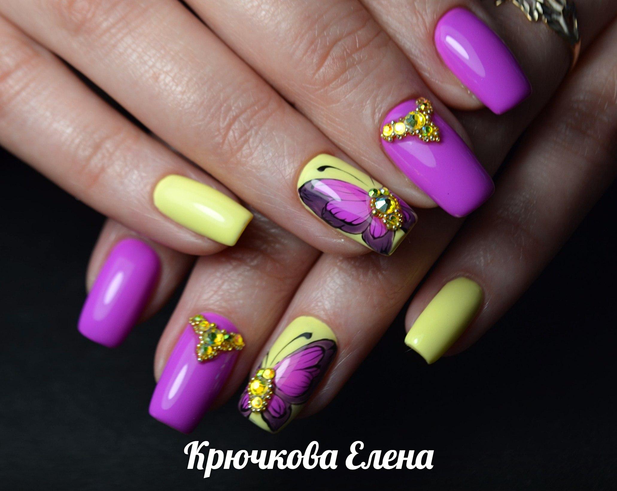 Фото дизайн ногтей весна лето 2017