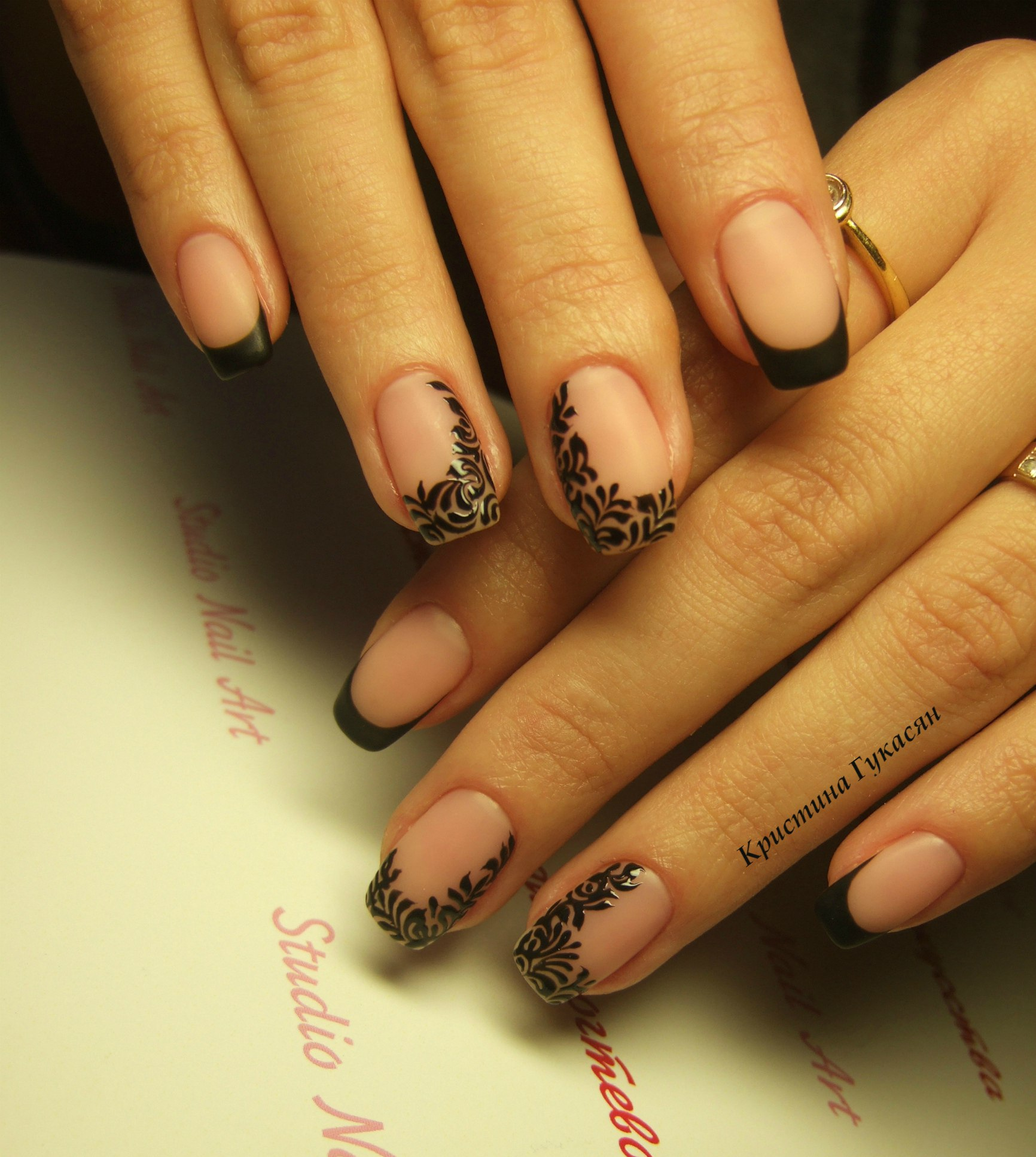 Фото красивых квадратных ногтей