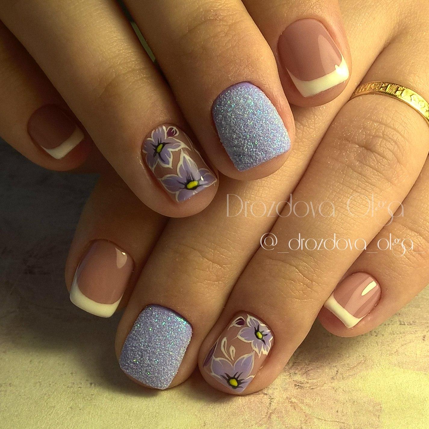 Мармелад для ногтей (Меланж) Nail Passion Меланж-сахарок 26
