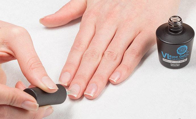 Ногти покрытые гель-лаком