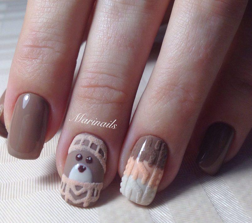 Модные рисунки на ногтях гель-лаком: фото