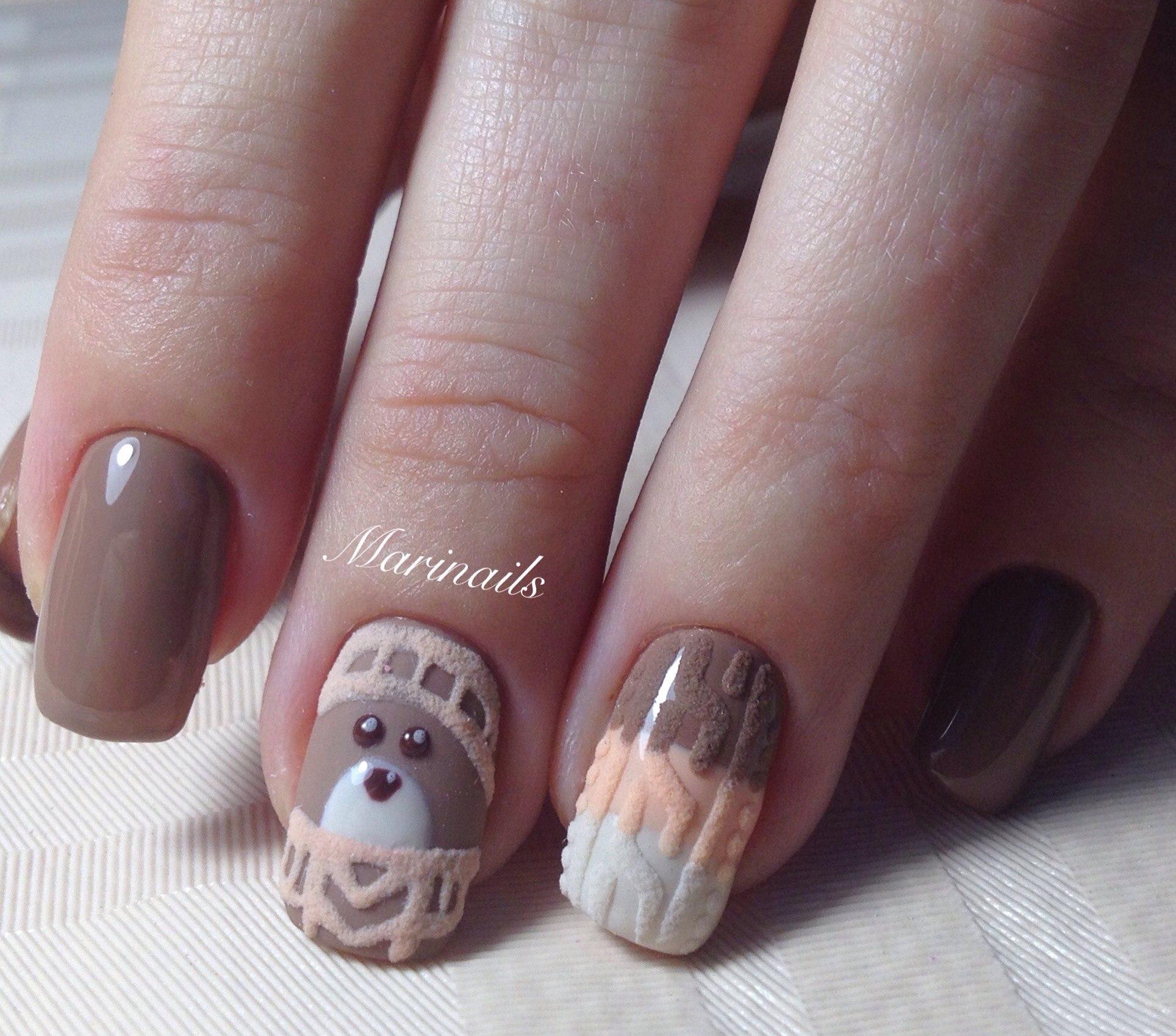 рисунки на ногтях фото гелем