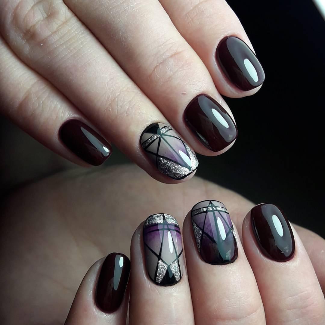Чем делать дизайн ногтей на гель-лаке