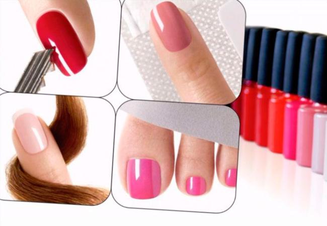 Покрытие гелем коротких ногтей фото
