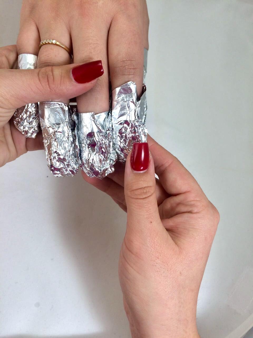 Как снимать гель-лак: с ногтей, в домашних условиях 6