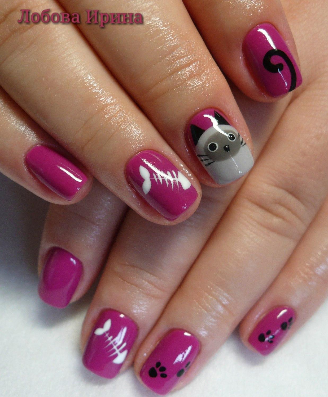 Фото рисунков на ногтях гель лаками