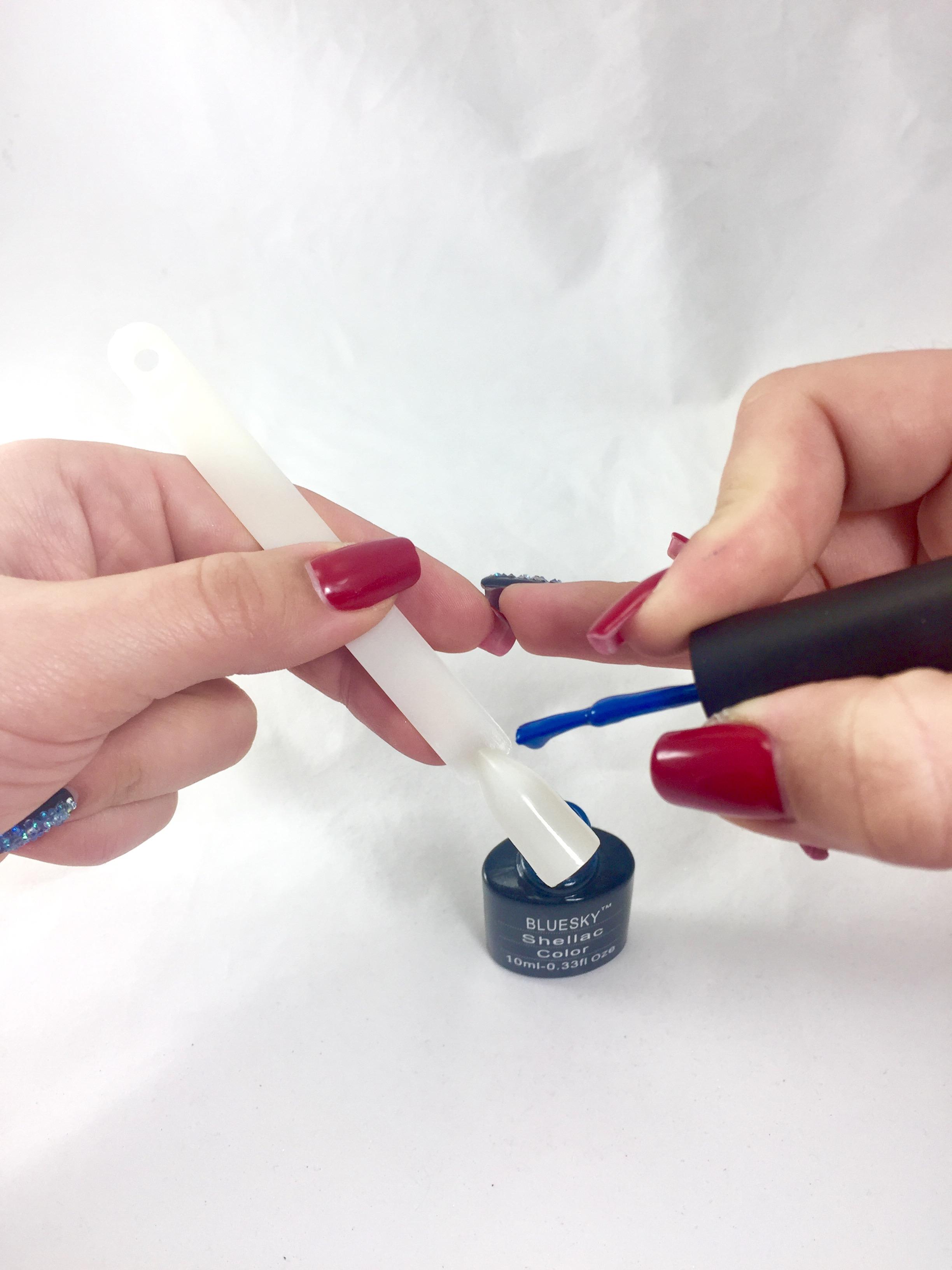 Рисунки на ногтях в домашних условиях 91