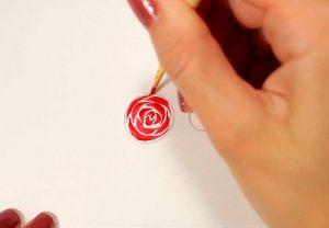 Как делать стемпинг: розы на гель лаке