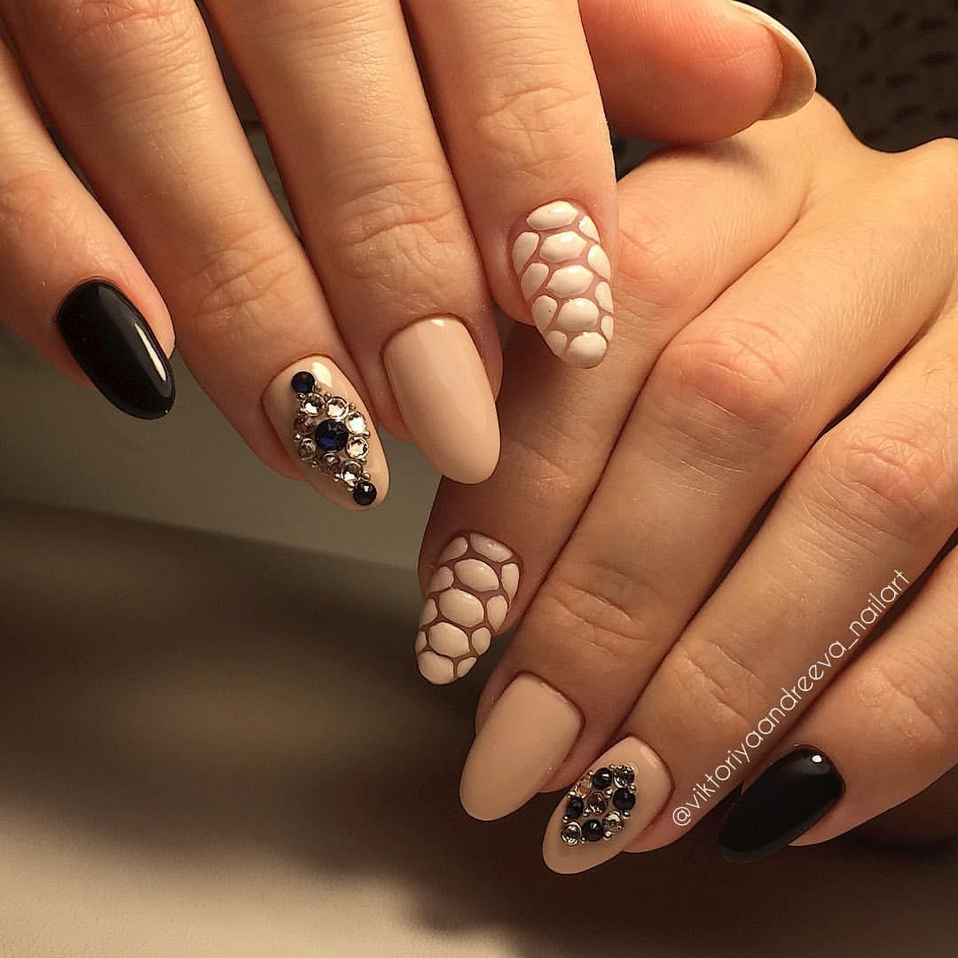 Элегантный дизайн ногтей фото
