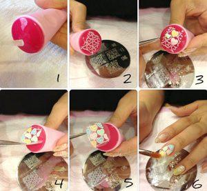 Пошаговая инструкция по выполнению степинга на гель лаке
