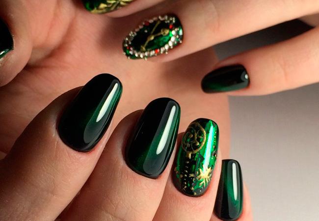 Фото простого дизайна ногтей гель лаком