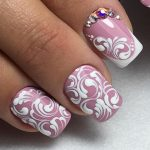 Вензеля на ногтях гель-лаком: пошаговые фотоуроки + лучшие идеи дизайна