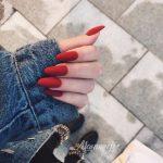 Матовые ногти 2018: 80 фото идей шикарного и модного дизайна + как сделать покрытие матовым