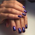 Маникюр на короткие ногти 2018: 45 фото идей модного дизайна + как зрительно удлинить ногти