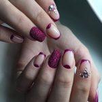 Фиолетовый маникюр 2018: 50 лучших фото идей модного дизайна + видео