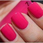 Ярко-розовый маникюр: 55 идей шикарного дизайна, лунный розовый маникюр, омбре и маникюр в стиле Барби