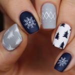 Маникюр зима 2018: модные тенденции, 90 фото идей зимнего дизайна, модные цвета 2018