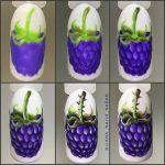 Фрукты на ногтях: схемы выполнения и яркие идеи дизайна + пошаговый урок сочного маникюра с киви