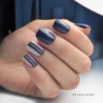 Дизайн коротких ногтей гель-лаком: 40 фото идей + пошаговый урок маникюра на каждый день