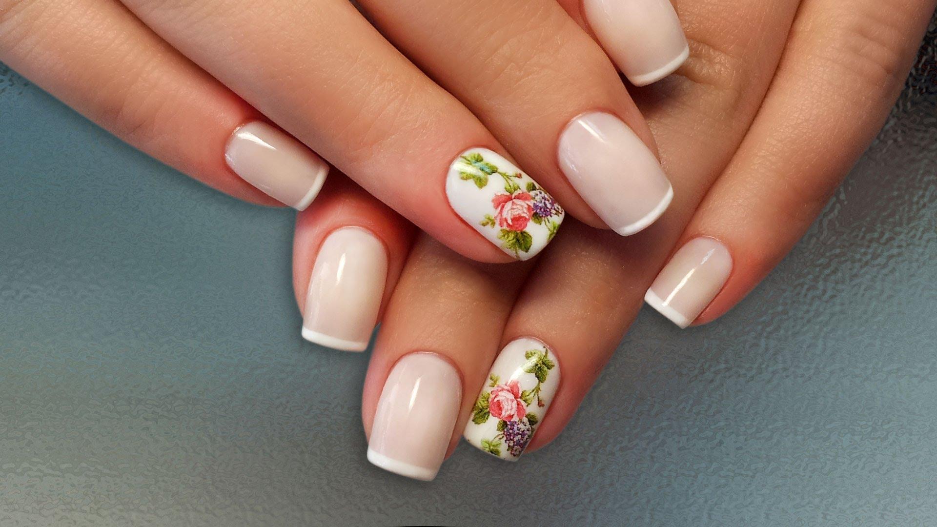 Дизайн коротких ногтей гель-лаком: 25 фото идей + пошаговый ...
