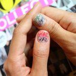 Маникюр с рисунками: 60 фото идей стильного дизайна ногтей