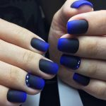 Синий маникюр: 55 фото идей шикарного дизайна ногтей