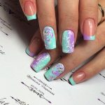 Маникюр на длинные ногти 2018: 55 фото идей модного дизайна