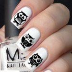 Черно-белый маникюр: 40 фото идей стильного дизайна ногтей